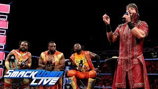 """The Miz demands answers from The New Day on """"Miz TV"""": SmackDown LIVE, May 22, 2018"""