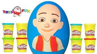 Dev Keloğlan Sürpriz Yumurtası oyun hamuru oddbods, ozmo,emo putty, streç slime 4K
