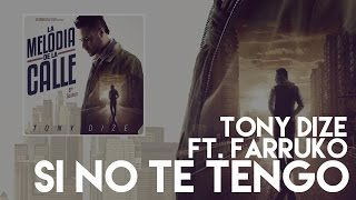 Tony Dize - Si No Te Tengo ft. Farruko [Official Audio]