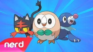 PokeRap Alola Version! | Pokemon Sun & Moon | #NerdOut