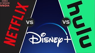 DISNEY+ vs NETFLIX vs HULU [Honest and In-Depth Comparison] - Tested on Phone, Laptop, and SmartTV