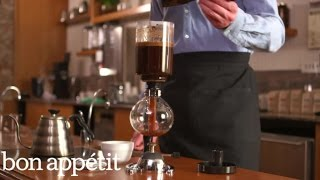 Bon Appetit/Stumptown Coffee Brew Guides: Vacuum Pot