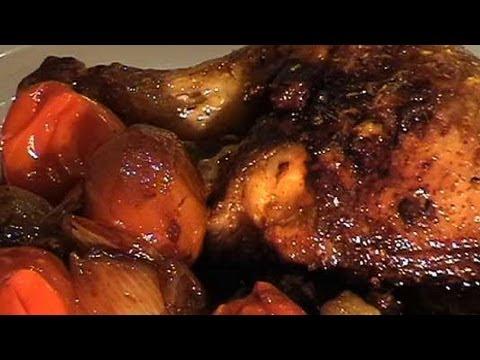 Hähnchen mit Marsala-Wein