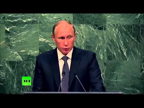Putin - Intervento all'ONU - Sett. 2015