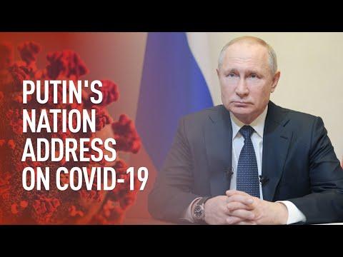 COVID-19   Putin's 2nd address to the nation amid coronavirus outbreak