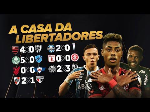 Fla, Verdão, Grêmio, Furacão e Santos avançam. SP eliminado e Inter vivo! A semana da Libertadores!