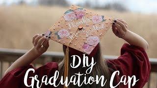 DIY Graduation Cap I FriDIY I Graduation Crafts I College Hack