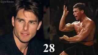Tom Cruise vs Jean-Claude Van Damme Transformation ★ 2018