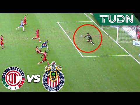 ¡Atajadón de Talavera! Le quitó un golazo a Chofis | Toluca 1 - 2 Guadalajara | Liga Mx - AP 19 - J1