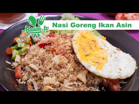 Video Nasi Goreng Ikan Asin | Resep #326