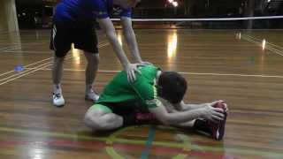 An Introduction to Sepaktakraw: Part 3 Warming up and Stretching