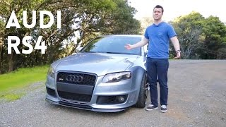 2007 Audi RS4 Review - The Best Sports Sedan Of All Time?