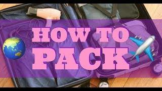 HOW TO PACK | My Travel Essentials! Super Organised! | Malvika Sitlani