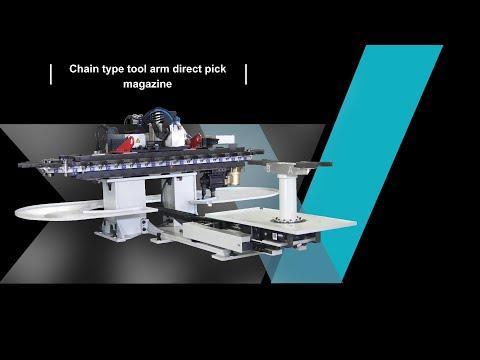 DVCA51-Chain type tool arm direct pick magazine