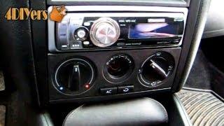 DIY: Volkswagen MKIV HVAC Light Bulb Replacement