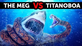 What If Megalodon Met the Biggest Snake Ever