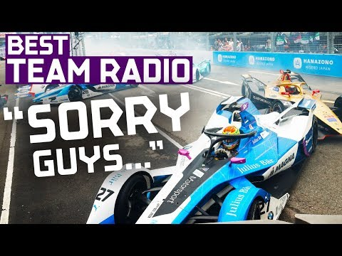 'Stay Focused!' | Best Team Radio | 2019 HKT Hong Kong E-Prix