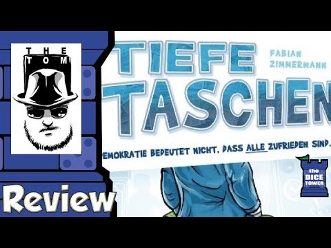 Tiefe Taschen Review - with Tom Vasel