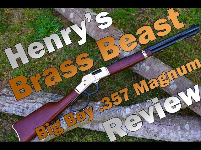 Henry Big Boy .357 Magnum Review