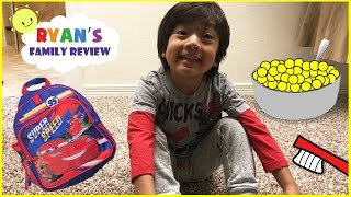 Kid Morning Routine on School Day! Let's get Ready for School with Ryan's Family Review