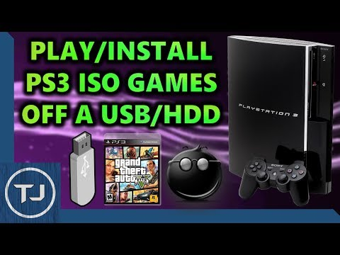 How To Play PS3 ISO Games Off USB/HDD! *Jailbroken PS3* (multiMAN) Mp3