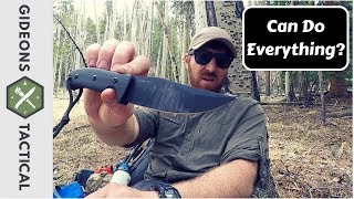 Can This Knife Do Everything? Kizer Little River Bowie - Video Youtube