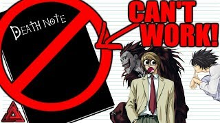 Download Youtube: Why The Death Note Would FAIL!