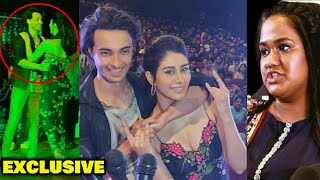 EXCLUSIVE: Aayush Sharma & Warina Hussain SPOTTED Together ENJOYING In A College For LOVERATRI