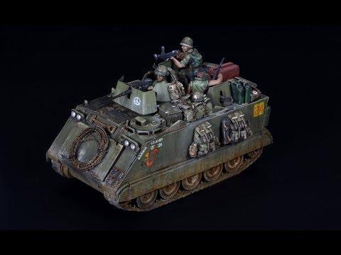 M113 APC vietnam war 1/72 Trumpeter - Vehicle Model