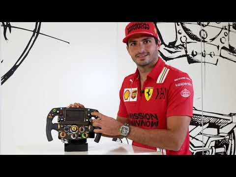 Carlos Sainz | FERRARI F1 STEERING WHEEL