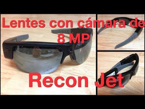 Lentes con cámara de 8MP graba video a 1080p Recom Jet de PivotHead 2