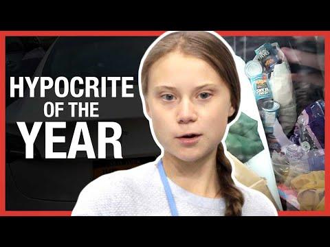 Wat vind jij van de Tesla van Greta Thunberg gevuld met plastic afval?