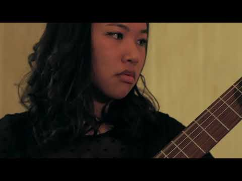 Etude 6 by Leo Brouwer, performed by Kaye Cariola (2014)