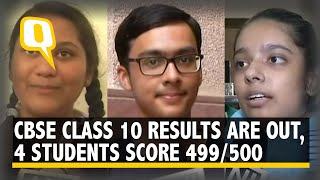 CBSE Topper: 4 Students Top The CBSE Class 10 Exam With 499 Marks. Girls Outperform Boys