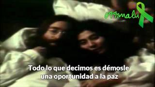 Give Peace a Chance-John Lennon(subtitulado)