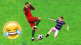 FUNNY KIDS IN FOOTBALL ● FAILS, SKILLS, GOALS #2