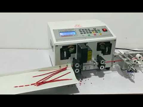 LD-02B Double Wire Cutting Stripping Machine