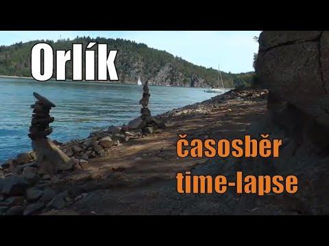 Orlík časosběr - time-lapse 1