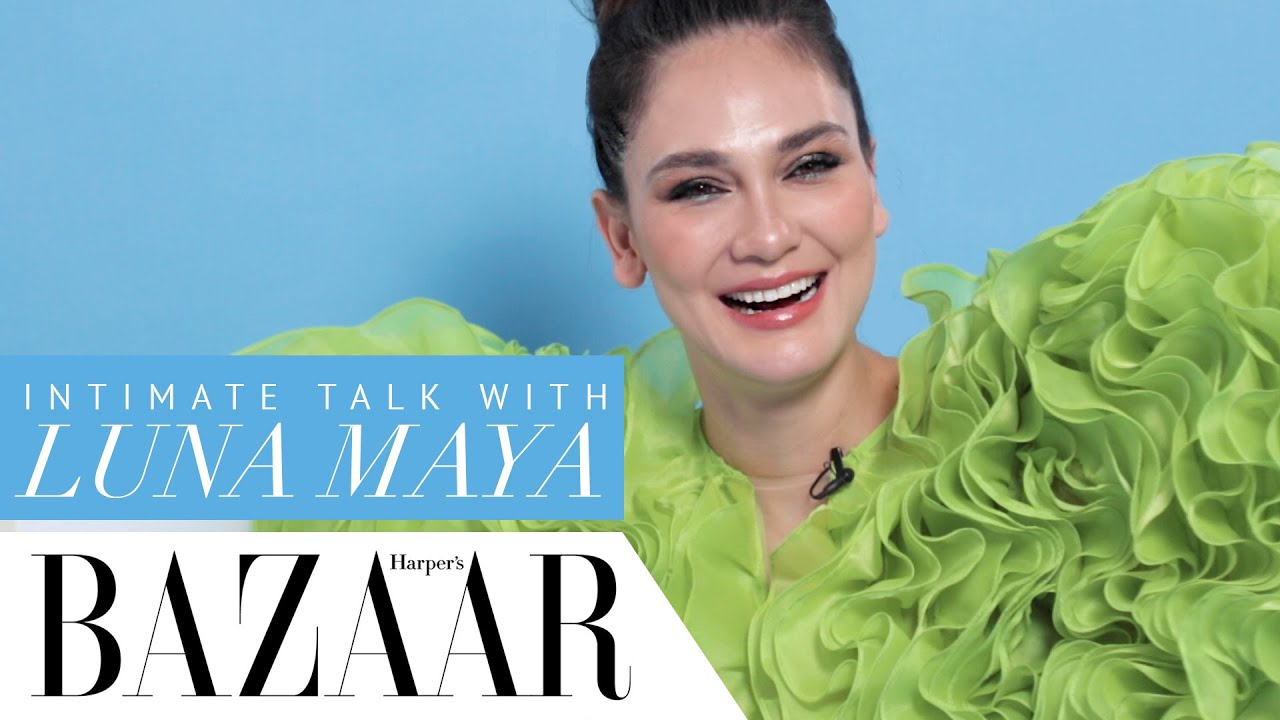 Harper's Bazaar Indonesia Cover Story: Intimate Talk With Luna Maya