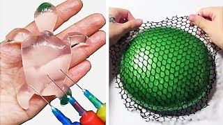 Relaxing Slime Compilation ASMR | Oddly Satisfying Video #33