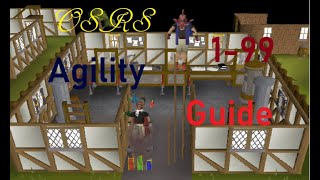 OSRS In Depth 1 99 Agility Guide 2018 Fastest XP Also
