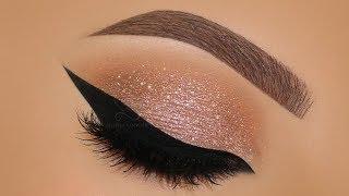 Glam Holiday Neutral Makeup Tutorial   Melissa Samways