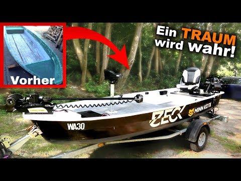 Pimp my Boat! Vom hässlichen Angelkahn zum Luxus-Bass-Boat | Angeln Maximal