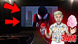 DO NOT WATCH SPIDERMAN MOVIE AT 3AM!! *OMG SPIDER-MAN CAME TO MY HOUSE*
