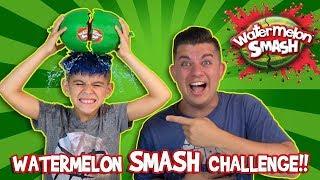 WATERMELON SMASH CHALLENGE!!