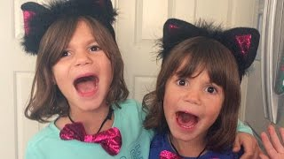 Kate & Lilly in Real Life, A Storm in Our House!! Fog Machine, Cat Costumes! | Family Vlog