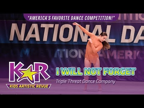 """""""I Will Not Forget"""" from Triple Threat Dance Company"""