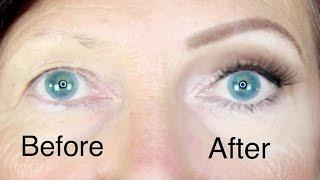 Hooded Eyes Makeup For Mature Skin | Stephanie Lange