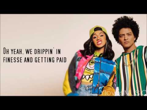 Bruno Mars Ft. Cardi B - Finesse (Lyrics) Mp3