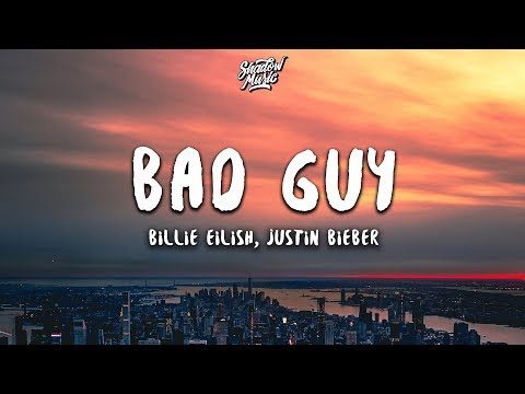 Billie Eilish  Justin Bieber Bad Guy